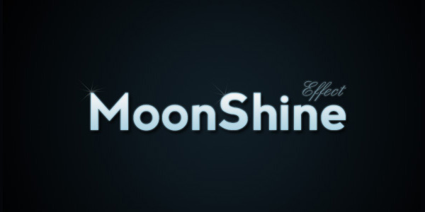 Moon Shine Text Effect