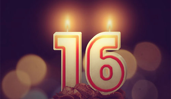 Number Candles Text Effect