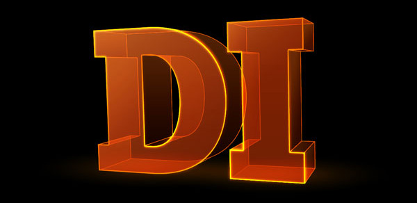 Translucent 3D Text