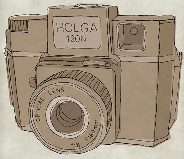 Create a Sketchy Hand-Drawn Camera Illustration in Illustrator