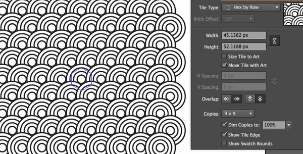 Create a Repeating Pattern in Illustrator
