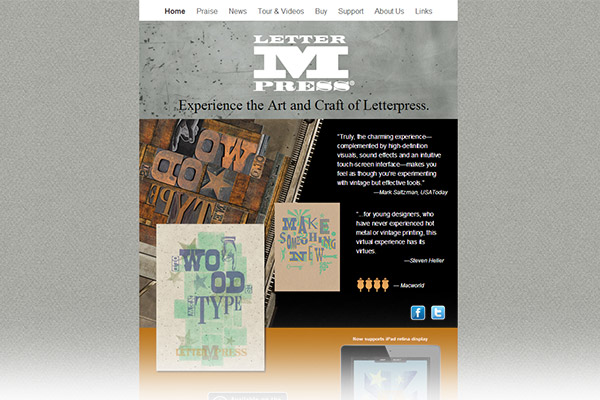 LetterMPress - Experience the art and craft of letterpress