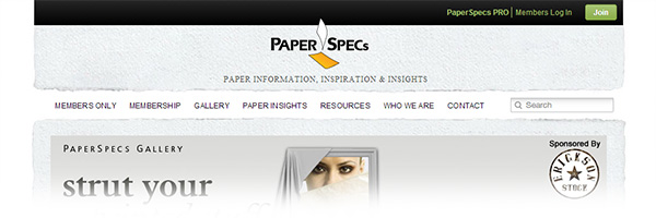PaperSpecs (Paper/Print Designs)