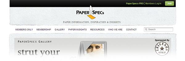 PaperSpecs (Paper/Print Designs)