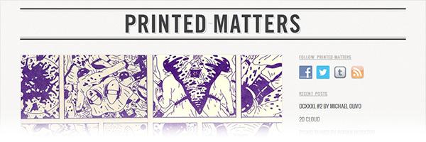 Printed Matters (Print Designs)