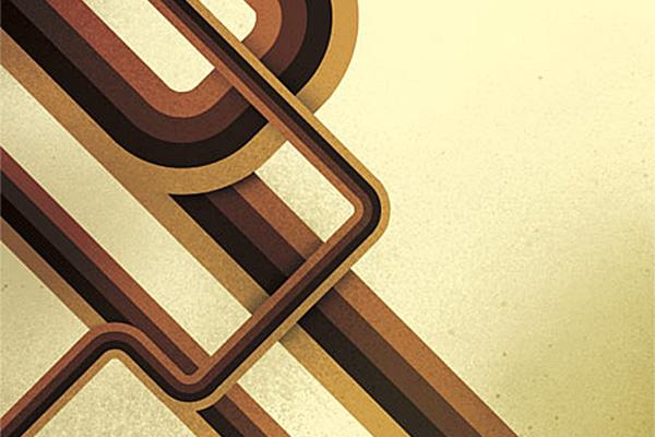 Trendy Geometric Lines Design Tutorial