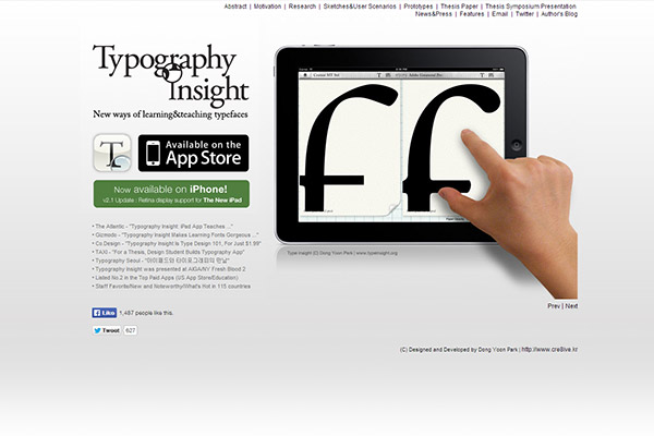 Typography Insight - News ways of learning and teaching typefaces