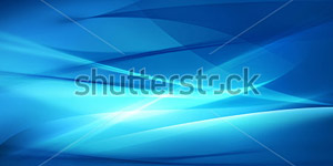 Abstract Blue Background Wave or Veil Texture