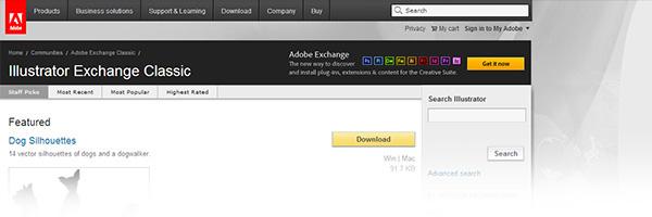 Adobe Illustrator Exchange Classic