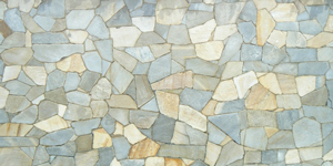 Artistic Blue/Brown Tiles Background