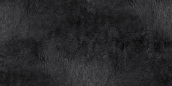 Black Llama Coat Texture