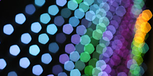 Colorful Bokeh Texture 01