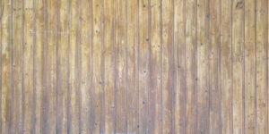 Corrugated Old Fence Background