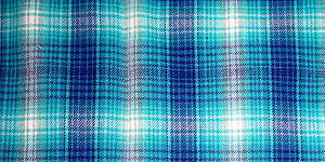 Cyan Plaid Background
