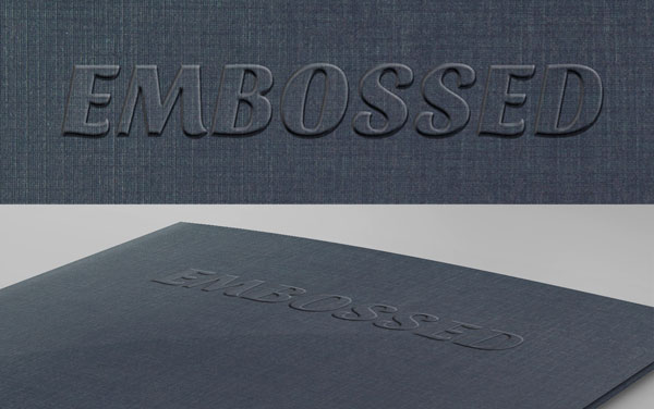Creating an Embossed Effect in Photoshop - Step 15