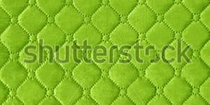 Green Genuine Leather Upholstery Background