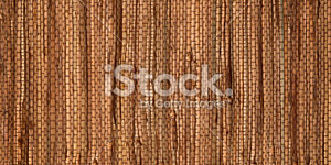High Resolution Natural Thatch Fabric Background