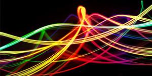 Light Vortex Background