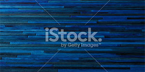Painted Dark Blue Wood Background