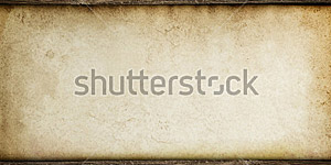 Paper on Wood Background