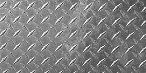 Silver Textured Sheet Metal Background