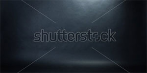 Spotlight Studio Interior Black Background