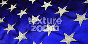 Stars on Blue Background