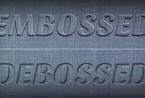Tutorial: Create a Realistic Emboss/Deboss Effect in Photoshop