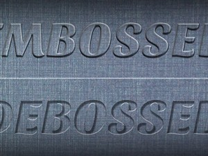 Create a Realistic Emboss/Deboss Effect in Photoshop (Tutorial)