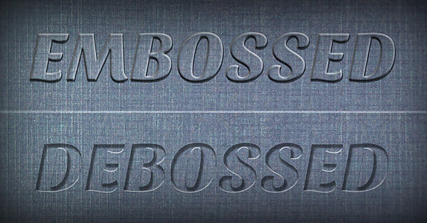 Create A Realistic Emboss Deboss Effect In Photoshop Tutorial