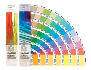 Pantone Color Book - Solid Coated/Uncoated Formula Guide