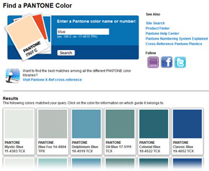 Pantone Color Finder