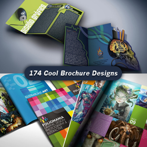 the 174 coolest brochure designs for creative inspiration - Brochure Design Ideas
