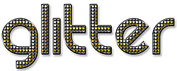 1930s Glitter Text Effect Action