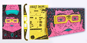 Adult Swim 2012 Comic-Con Brochure