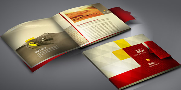 Dawn Creative - Tourist Guide Brochure