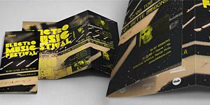 Electro Music Festival Brochure