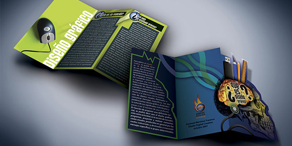 The 174 coolest brochure designs for creative inspiration for Graphic design brochure
