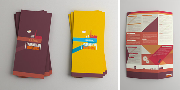 The 174 coolest brochure designs for creative inspiration fabriquem emocions brochure maxwellsz