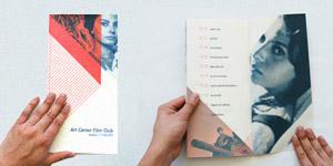 Italian Neorealism Cinema Series Brochure