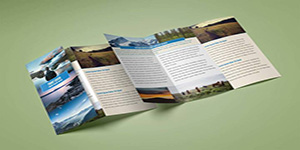 Lucidpress Big Sky Brochure Template