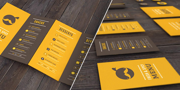 masala darbar - Booklet Design Ideas