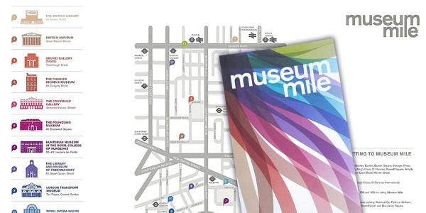 Museum Mile Brochure