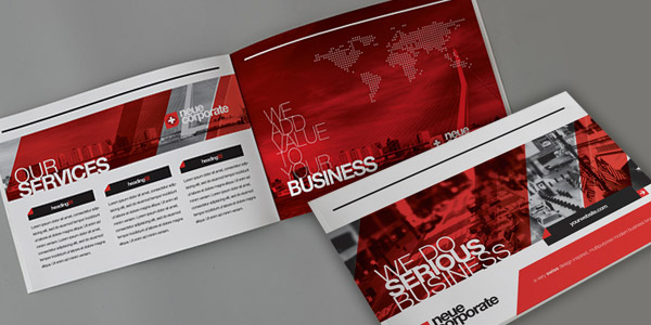 neue corporate - Brochure Design Ideas