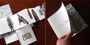 Nick Cave: Heavyweight/Alterskins Brochure