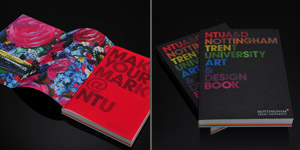 NTU Art & Design Book 08/09 Brochure