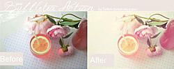 Pink Bubble Tea PS Action
