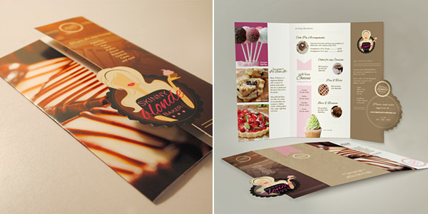 unique brochure designs - the 174 coolest brochure designs for creative inspiration