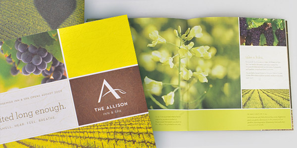 The Allison Inn & Spa Brochure