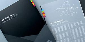 Ville de Verviers (City of Verviers) Brochure
